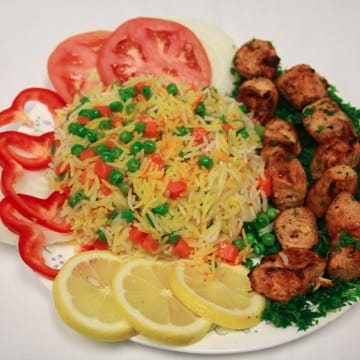 Thursday Special - Chicken Tawook Plate